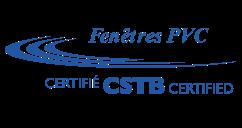 Fenêtres PVC certifiées CSTB