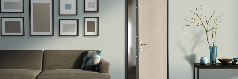 La porte d'entrée blindée