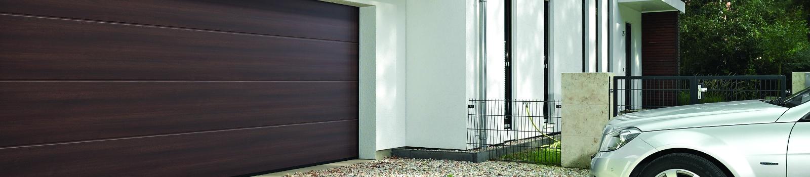Options spécifiques aux portes de garage sectionnelles