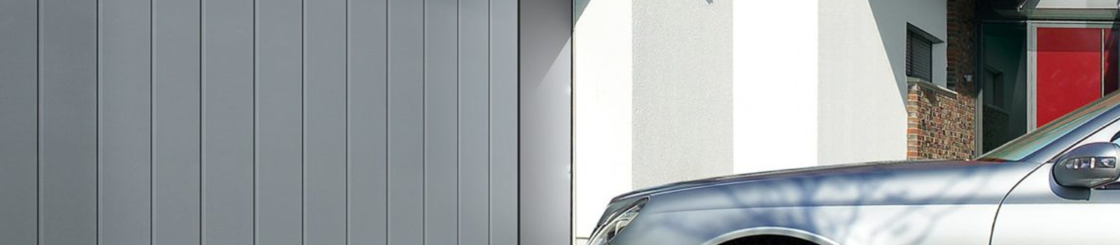 Options spécifiques aux portes de garage latérales