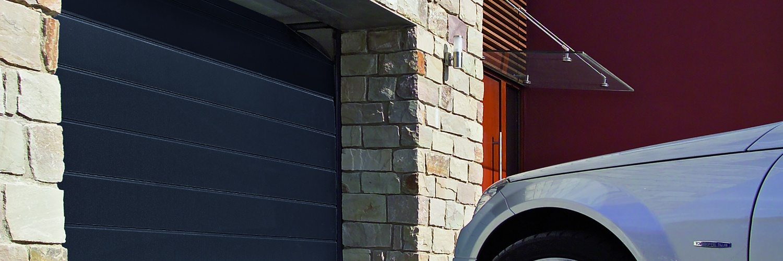 La porte de garage sectionnelle